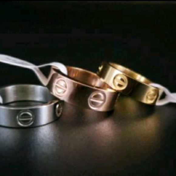 stainless steel Jewelry - Stainless steel c.a.r.t.i.e.r style rings